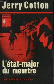 L'Etat Major Du Meurtre - Couverture - Format classique