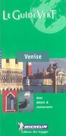 Le Guide Vert T.587 - Intérieur - Format classique