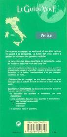 Le Guide Vert T.587 - 4ème de couverture - Format classique