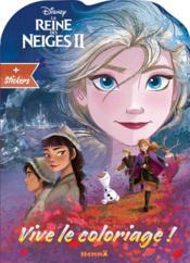 Vive le coloriage ! ; la Reine des Neiges 2 ; Elsa - Couverture - Format classique