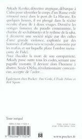 Havana Bay - 4ème de couverture - Format classique