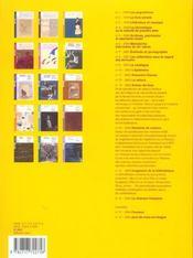 REVUE BNF T.16 ; la chanson française - 4ème de couverture - Format classique