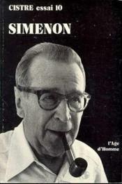 Simenon Georges - Couverture - Format classique