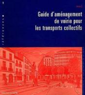 Guide d'aménagement de voirie pour les transports collectifs - Couverture - Format classique