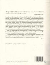 Le cinéma enchanté de Jacques Demy - 4ème de couverture - Format classique