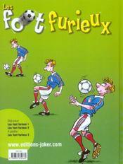 Les Foot Furieux T.2 - 4ème de couverture - Format classique