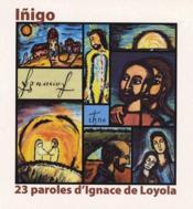 23 paroles d'Ignace de Loyola - Couverture - Format classique