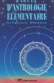 Manuel D'Astrologie Elementaire - Couverture - Format classique