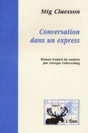 Conversation dans un express - Intérieur - Format classique