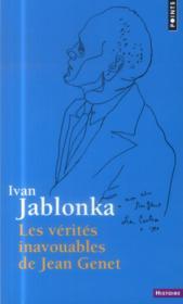 Les vérités inavouables de Jean Genet - Couverture - Format classique