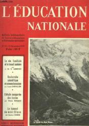 L'Education Nationale N°32 - Couverture - Format classique