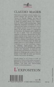 L'Exposition - 4ème de couverture - Format classique