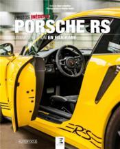 Porsche RS, la compétition en filigrane - Couverture - Format classique