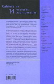 Le Geste Musical - 4ème de couverture - Format classique