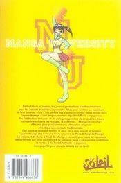 Kana et kanji de manga t.4 - 4ème de couverture - Format classique
