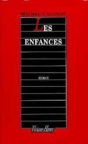 Les Enfances - Couverture - Format classique