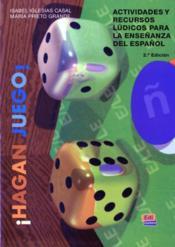 Hagan Juego - Couverture - Format classique