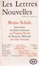 Les nouvelles lettres décembre 72 janvier 73 - Couverture - Format classique