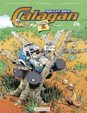 Calagan rallye raid t.2 - Couverture - Format classique