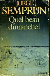 Quel Beau Dimanche! - Couverture - Format classique