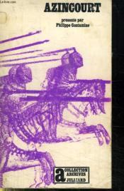 Azincourt. - Couverture - Format classique