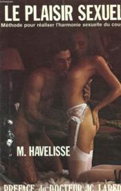 Le Plaisir Sexuel. - Couverture - Format classique