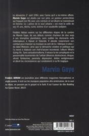 Marvin Gaye - 4ème de couverture - Format classique
