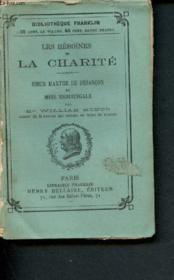 Les héroïnes de la charité : Soeur Marthe de Besançon et Miss Nightingale - Couverture - Format classique