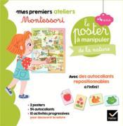 Mes premiers ateliers Montessori ; coffret Montessori poster à manipuler de la nature - Couverture - Format classique