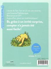 Bienvenue en caverne préhistorique t.6 ; les mathématigres - 4ème de couverture - Format classique