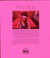 Pink box - 4ème de couverture - Format classique