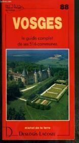 Vosges - Couverture - Format classique