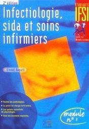Infectiologie, sida et soins infirmiers (2e édition) - Intérieur - Format classique