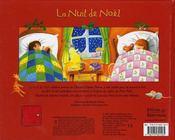 La nuit de Noël - 4ème de couverture - Format classique