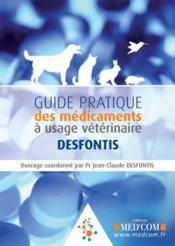 Guide pratique des médicaments à usage vétérinaire - Couverture - Format classique
