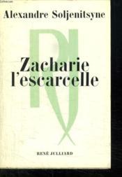 Zacharie L Escarcelle. - Couverture - Format classique