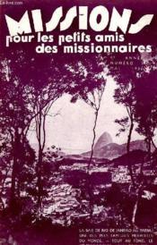 MISSIONS POUR LES PETITS AMIS DES MISSIONNAIRES, 4e ANNEE, N° 5, MAI 1936 - Couverture - Format classique