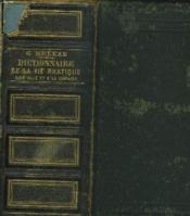 Dictionnaire Universel De La Vie Pratique A La Ville Et A La Campagne. - Couverture - Format classique