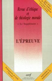 L Epreuve Supp227 - Couverture - Format classique