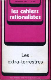 Les Cahiers Rationalistes N°305 - Les Extra-Terrestes - Couverture - Format classique
