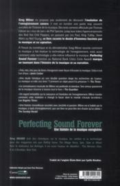 Perfecting sound forever (l'histoire de la musique enregistrée) - 4ème de couverture - Format classique