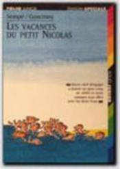 Le Petit Nicolas ; les vacances du petit Nicolas - Couverture - Format classique