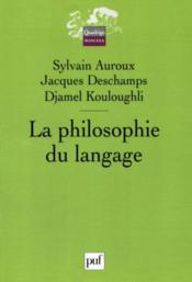 La philosophie du langage - Couverture - Format classique