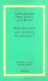 Une éducation sans autorité, ni sanction ? - Intérieur - Format classique