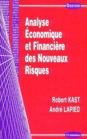 Analyse Economique Et Financiere Des Nouveaux Risques - Intérieur - Format classique