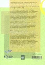Surveillance épidémiologique en santé animale (2e édition) - 4ème de couverture - Format classique