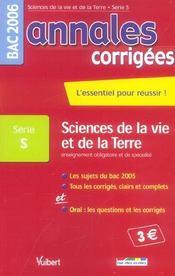 Annales Corrigees T.9 ; Enseignement Obligatoire Et Specialite (édition 2006) - Intérieur - Format classique