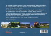Franche-Comté - 4ème de couverture - Format classique