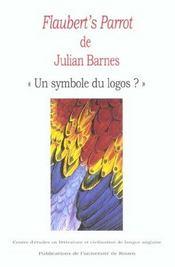 Flaubert'S Parrot De Julian Barnes - Intérieur - Format classique