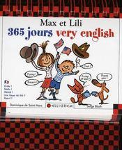 Max et Lili ; 365 jours very english - Intérieur - Format classique